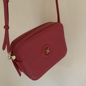 Mimco pink crossbody bag